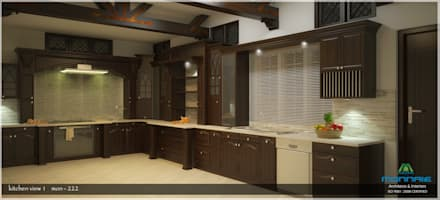 asian kitchen design. Victorian Style In Interiors: Asian Kitchen By Monnaie Architects \u0026 Interiors Design