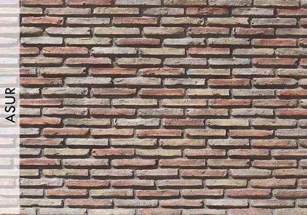 Tuğla Panel: Centros comerciales de estilo  por Sena Stone
