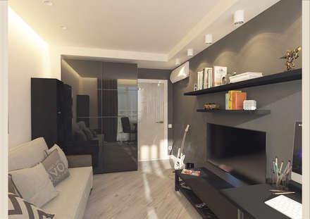 Квартира стилиста.: Детские комнаты в . Автор – Tutto design