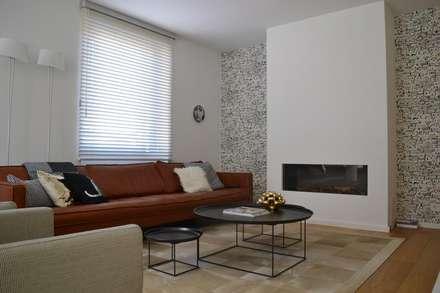 Woonkamer design idee n inspiratie en foto 39 s homify - Moderne woonkamer eetkamer ...