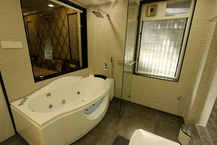 Guest Toilet: modern Bathroom by Mind Studio
