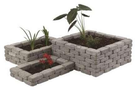 Floreira 4: Jardins modernos por Amop