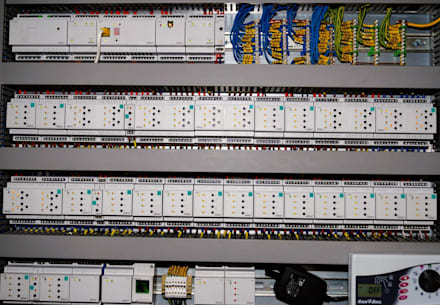 Электрошкаф с оборудованием Inels: Медиа комнаты в . Автор – 1Smart-Home