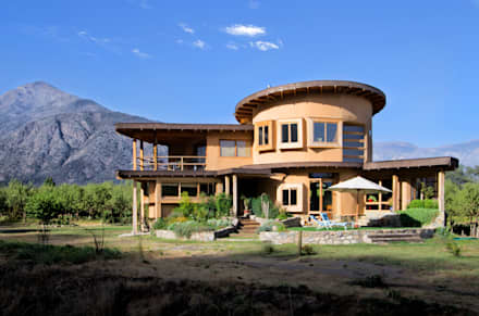 منازل تنفيذ ALIWEN arquitectura & construcción sustentable