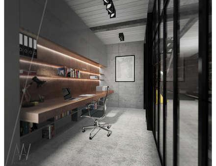 Phòng học/Văn phòng by AAW studio