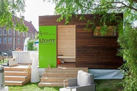 Außensauna Corsika: skandinavisches Spa von corso sauna manufaktur gmbh