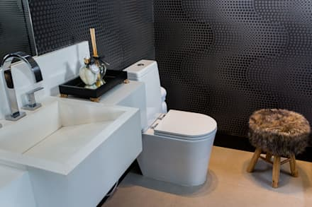 حمام تنفيذ Marcelo Lopes Arquitetura