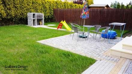 Ogród przed domem: styl , w kategorii Ogród zaprojektowany przez Szalbierz Design