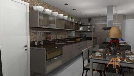 Cozinha alto padrão: Cozinhas modernas por Anderson Roberto  - Soluções Inteligentes para Ambientes
