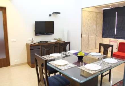 Prabhadevi : minimalistic Dining room by Elevate Lifestyles