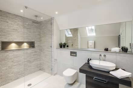 Ensuite: modern Bathroom by Emma Hooton Ltd