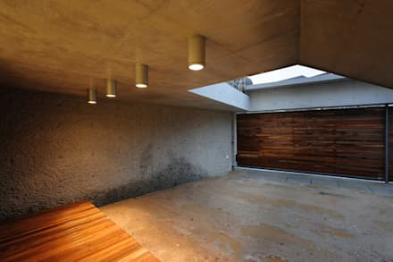 평창동 주택 (Pyeongchangdong House) : 위빌 의  베란다