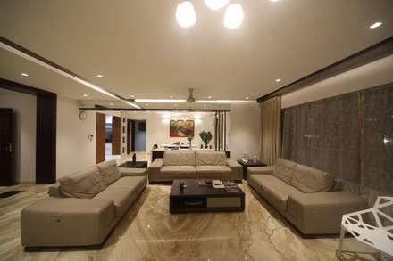 Samrath Paradise: modern Living room by IMAGE N SHAPE