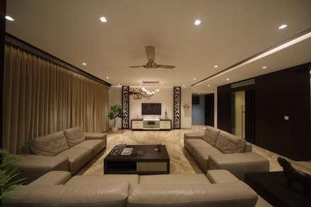 samrath paradise modern living room by image n shape - House Rooms Designs