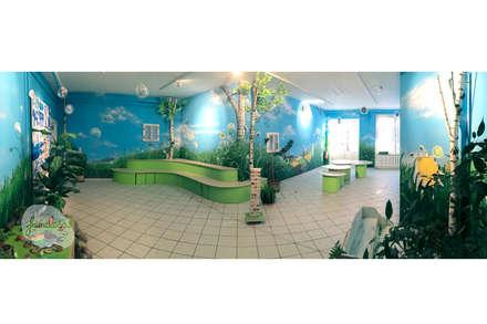 Wandmalerei - Panorama:  Schulen von Graffiti und Wandmalerei | Frameless-studio UG