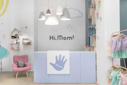 Hi, mom: Офисы и магазины в . Автор – LPetresku