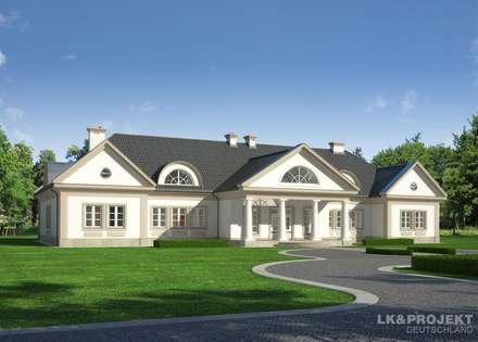 Unser Projekt und ein paar Fotos von der Baustelle zu vergleichen: koloniale Häuser von LK&Projekt GmbH