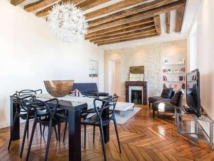 Appartement refait à neuf à St Germain en Laye (78100): Salle à manger de style de style Moderne par Apartbyjo