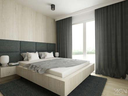 scandinavian Bedroom by MGN Pracownia Architektoniczna