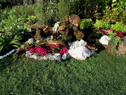 AYTÜL TEMİZ LANDSCAPE DESIGN - MANDARIN ORIENTAL - PEYZAJ PROJE & UYGULAMA // MANDARIN ORIENTAL - LANDSCAPE PROJECT&APPLICATION: modern tarz Bahçe