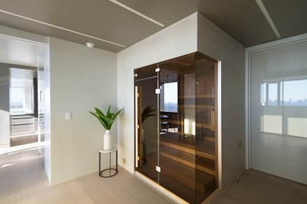 Luxury Apartment Combination: minimalistic Spa by Andrew Mikhael Architect
