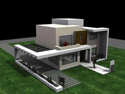 Casas estilo minimalisa homify for Casa minimalista 70m2
