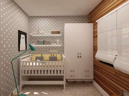 Quarto Infantil: Quarto infantil  por .Villa arquitetura e algo mais