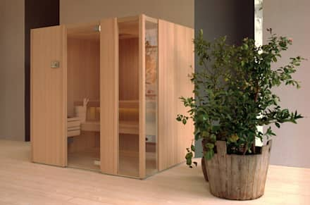 Effegibi Auki: modern Spa by Steam and Sauna Innovation