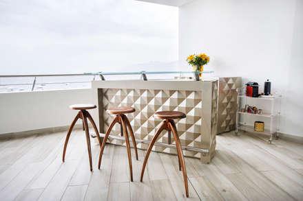 Terrace by Carughi Studio