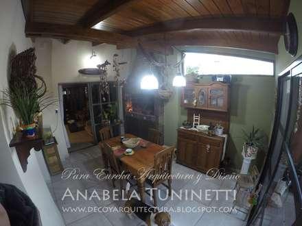 Galería Rústica: Comedores de estilo rústico por Anabela Tuninetti - Deco & Vanguardia