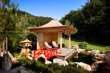 Asiatischer Flair im Garten: asiatischer Garten von Klaus Geyer Elektrotechnik