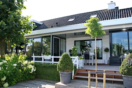 Huis design idee n inspiratie en foto 39 s homify for Terras modern huis