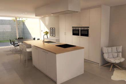 Keuken: moderne Keuken door AD MORE design