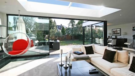 Various Skylight Installation Projects with 4C Developments:  Windows  by Sunsquare Ltd