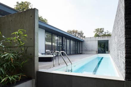 modern Pool by 1st Option Representation