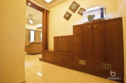 wood work :  Corridor & hallway by The creative axis