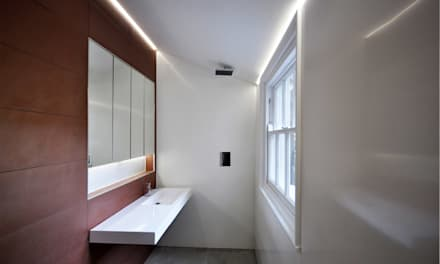 JJ House : asian Bathroom by Space Group Architects