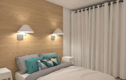 Rénovation complète d'un appartement: Chambre de style de style Scandinave par MARTIN Intérieur