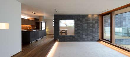 LDK: バウムスタイルアーキテクト一級建築士事務所が手掛けたリビングです。