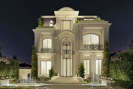 Exploring Luxurious Homes : Enchanting Exterior Architecture: classic Houses by IONS DESIGN