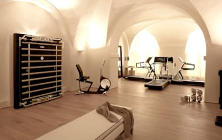 salle de sport moderne id es inspiration homify. Black Bedroom Furniture Sets. Home Design Ideas