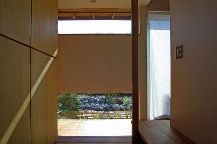 だんしゃりあん: 環境創作室杉が手掛けた玄関/廊下/階段です。