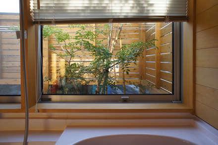 だんしゃりあん: 環境創作室杉が手掛けた浴室です。