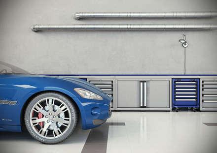 Garage e rimessa ispirazione e design homify for Design moderno garage indipendente