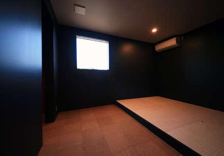 Y HOUSE: HIPSQUAREが手掛けた寝室です。