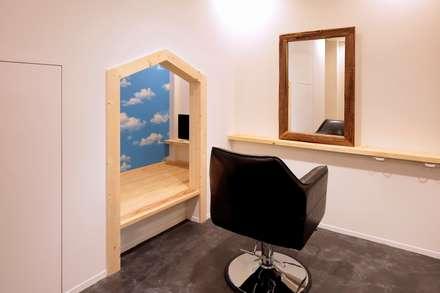 キッズスペース: ニュートラル建築設計事務所が手掛けた子供部屋です。