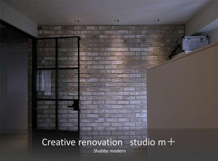 Paredes de estilo  por studio m+ by masato fujii