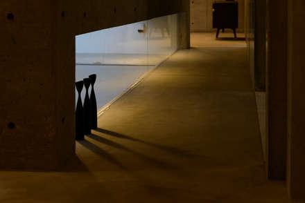 みなも: 風景のある家.LLCが手掛けた玄関/廊下/階段です。