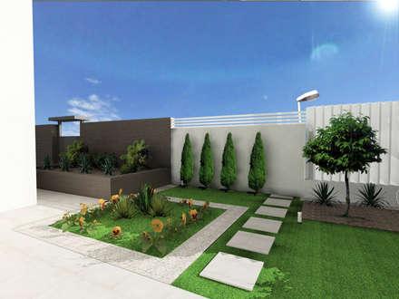 Jardines de estilo mediterraneo por CARMAN INTERIORISMO