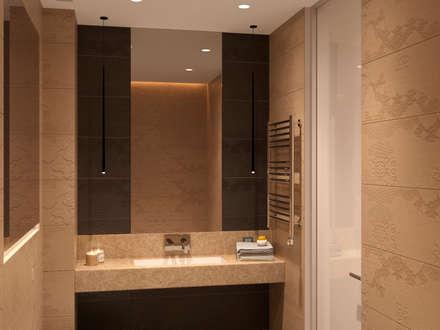 Bathroom : modern Bathroom by Panda Studio